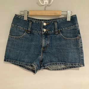 Navy Blue Jean short